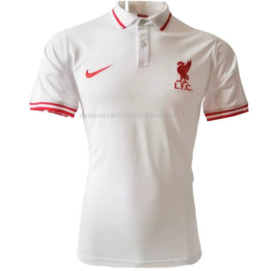 camiseta polo liverpool blanco 2020