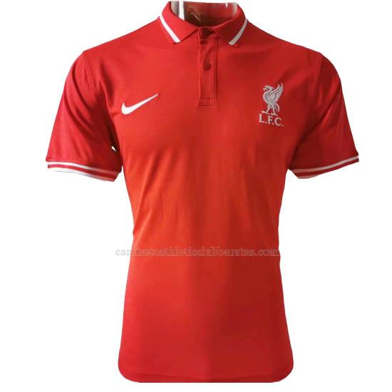 camiseta polo liverpool rojo 2020