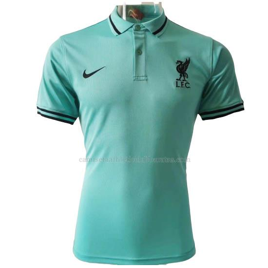 camiseta polo liverpool verde 2020