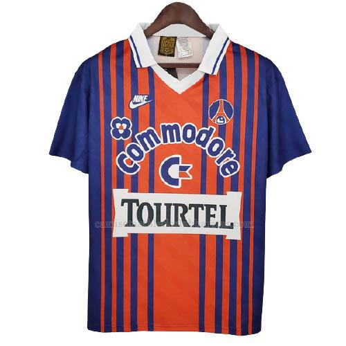 camiseta retro del paris saint-germain del 1ª equipación 1993-1994