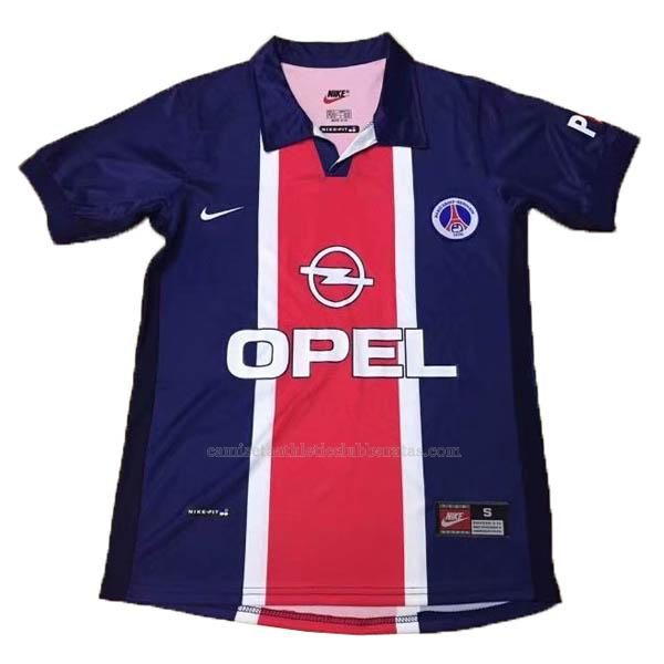 camiseta retro del paris saint-germain del 1ª equipación 1997-98