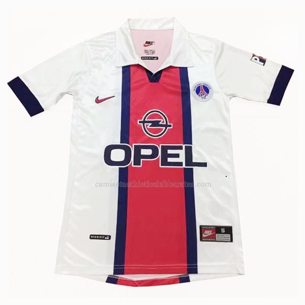 camiseta retro del paris saint-germain del 2ª equipación 1997-98