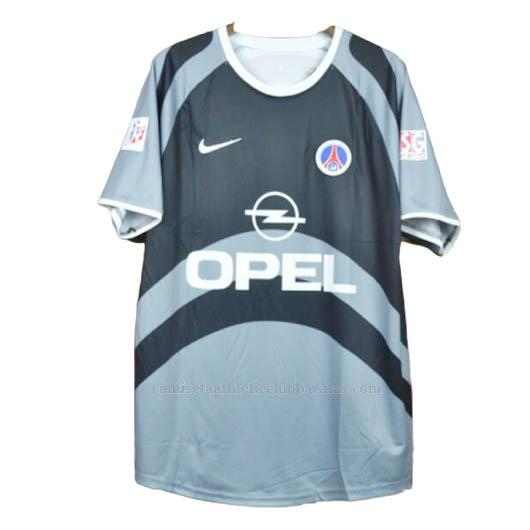 camiseta retro del paris saint-germain del 2ª equipación 2001-02